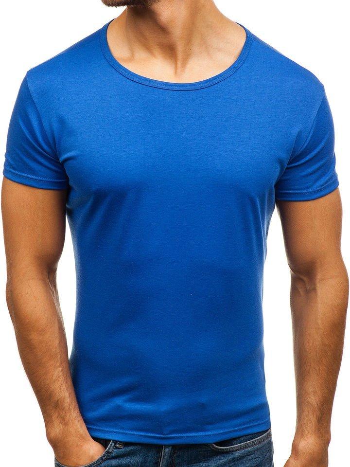 Мужская синяя футболка картинки