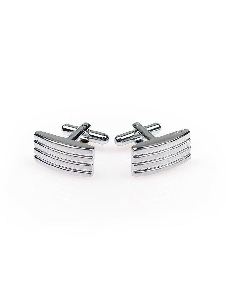 Запонки кольору срібло Bolf S009-А