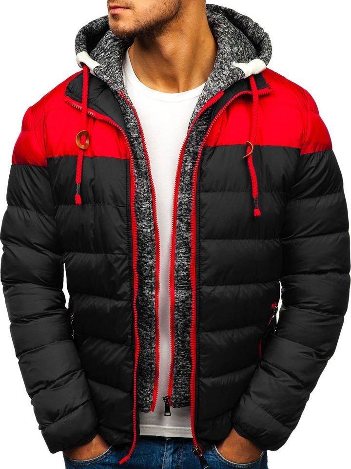 6041ba3d bolf.ua - Мужская зимняя куртка черная Bolf A131, Черный - imall.com
