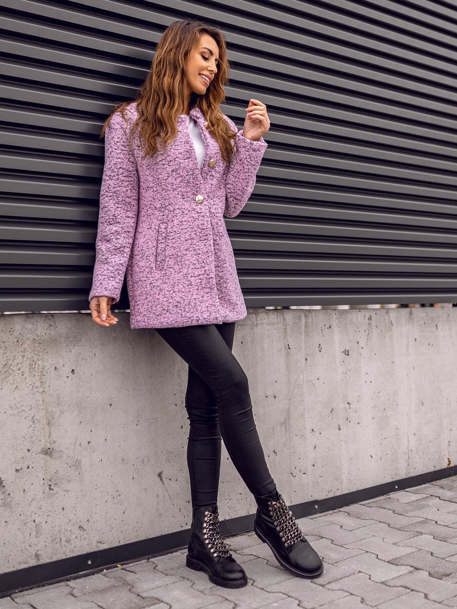 Жіноча пальто рожеве Bolf 6011-1
