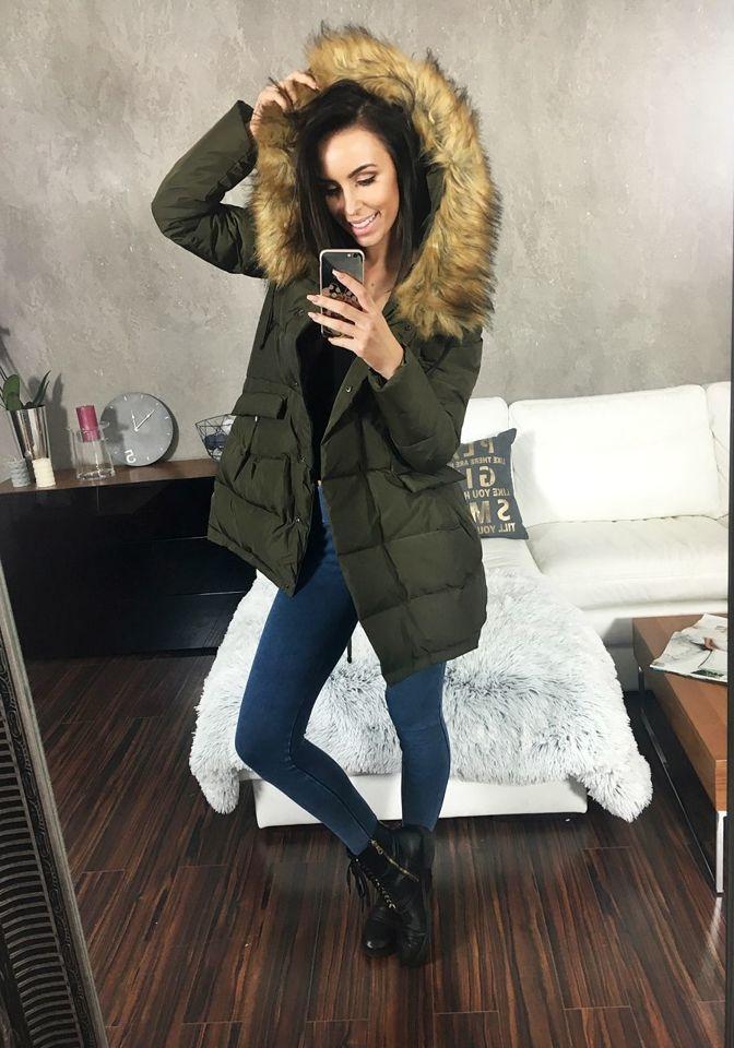 Куртка Зимняя Женская С Капюшоном Купить