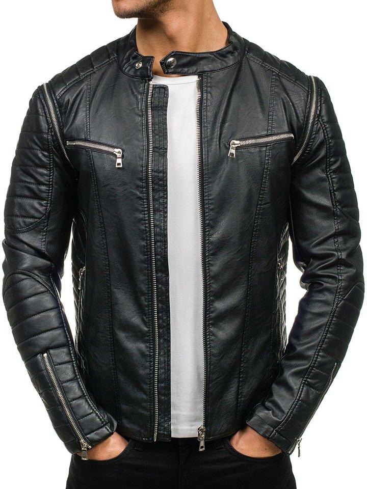 фото кожаные мужские куртки
