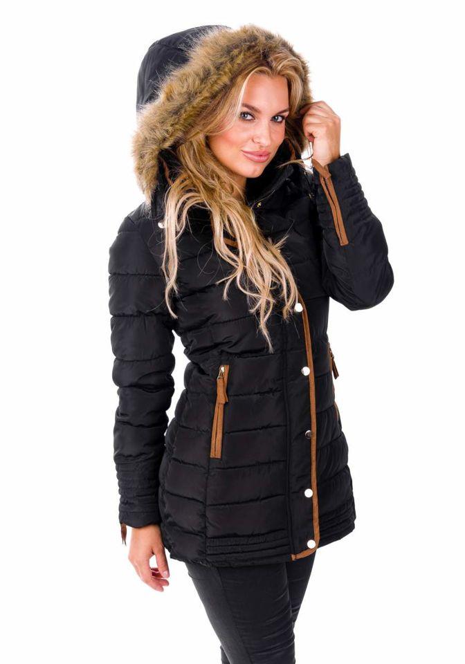 Куртка жіноча 012B чорна ЧОРНИЙ b4b9a8036c309
