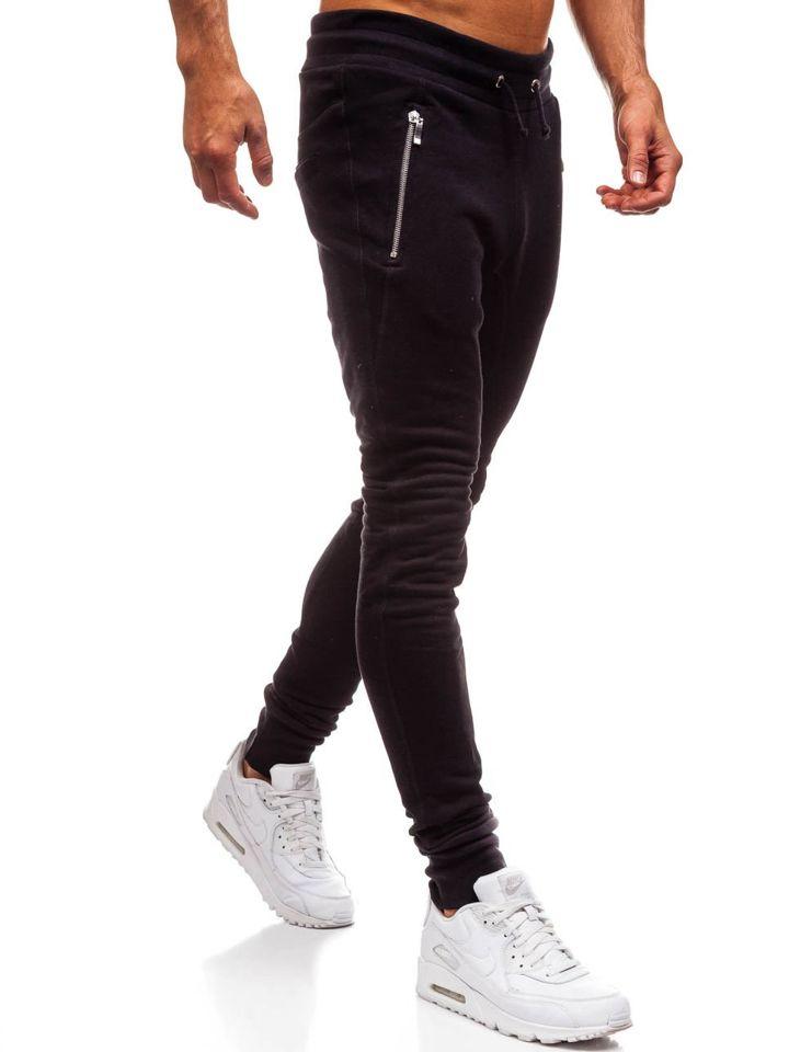 ... Чоловічі трикотажні штани багі чорні Bolf 43s-s ... 069f973308076