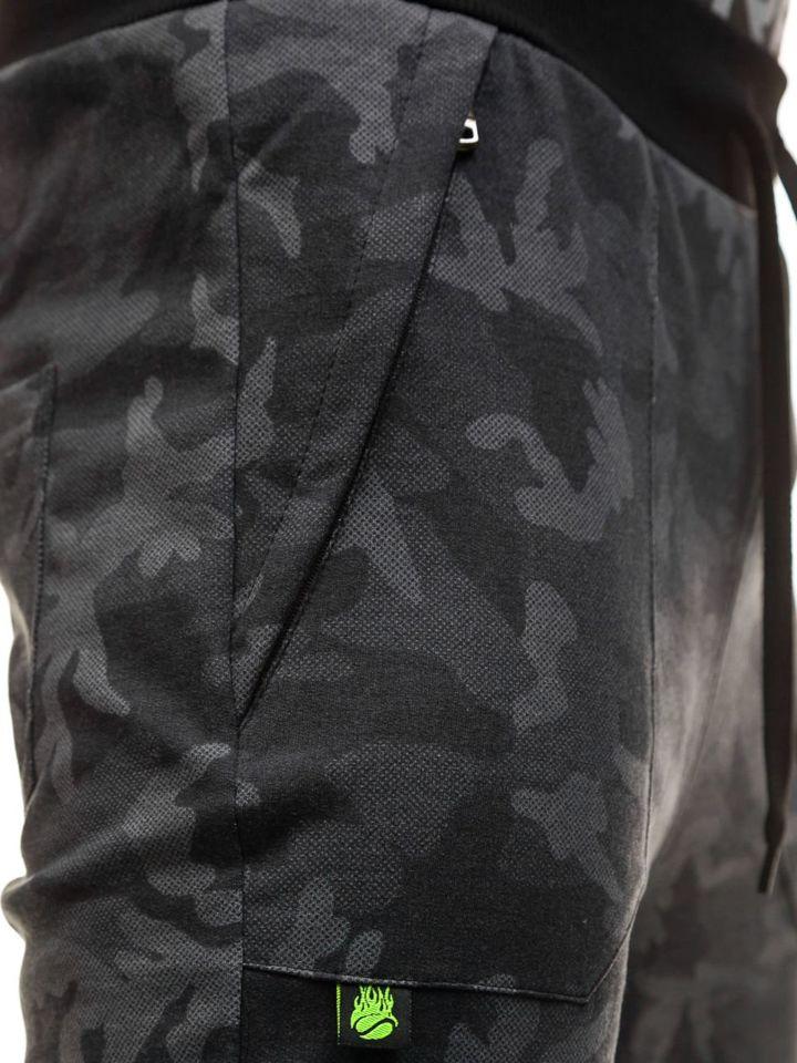 ... Чоловічі трикотажні штани джогери камуфляж-сірі Bolf 1359 ... c6592c3144075